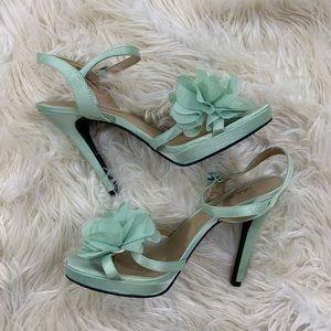 Lulu Townsend Mint High Heels